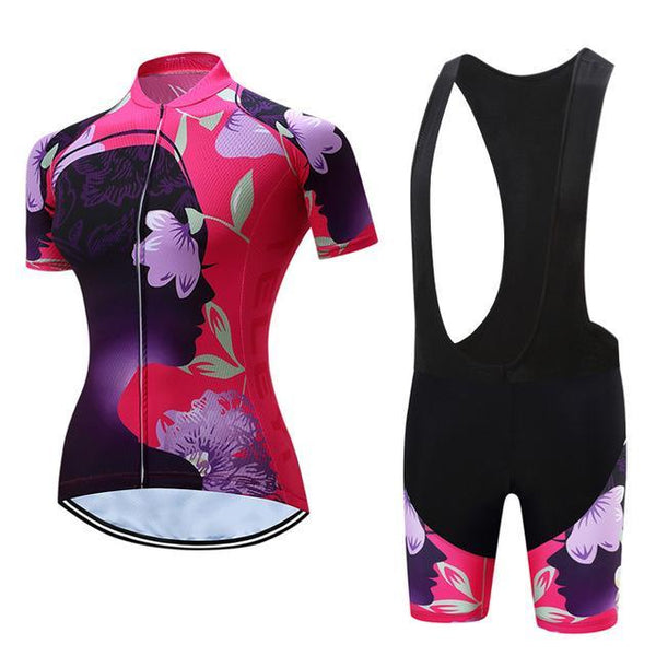 PINkart-USA Online Shopping 6 / L Teleyi Leisure Outdoor Women'S Cycling Jersey Set Sport Bicycle Cycling Clothing Ropa Ciclismo