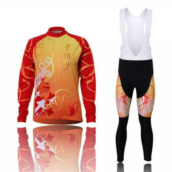 PINkart-USA Online Shopping 6 / L Women'S Cycling Jersey Sets Winter Long Sleeve Mtb Bicycle Cycling Clothing Maillot Ciclismo