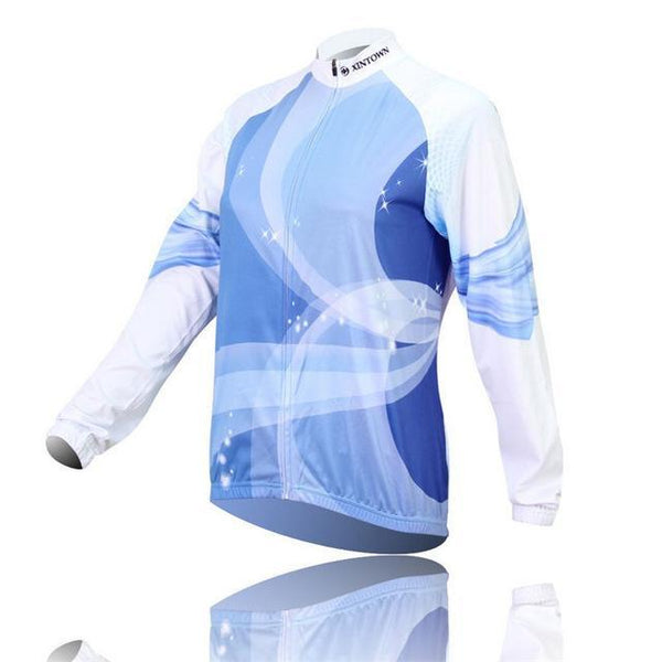 PINkart-USA Online Shopping 6 / L Women'S Long Sleeve Cycling Jersey Winter Sport Bicycle Cycling Clothing Mountain Bike Jersey