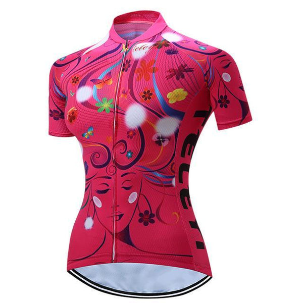 PINkart-USA Online Shopping 6 / S Teleyi 100% Polyester Summer Breathable Cycling Jersey Short Sleeve Road Bicycle Cycling Clothing