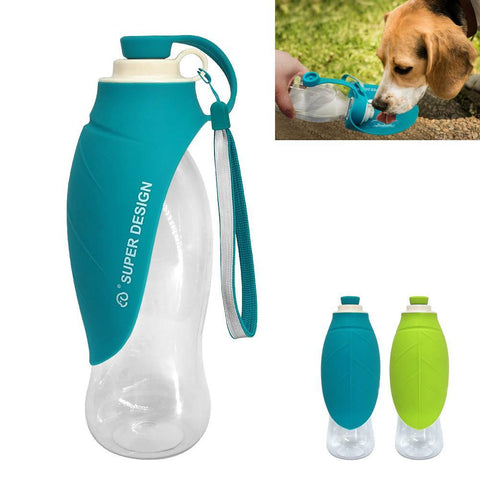 PINkart-USA Online Shopping 650 Ml Dog Water Drinking Bottle Bowl Portable Pet Water Dispenser Cat Puppy Feeding Bottle For