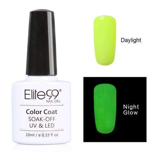PinKart-USA Online Shopping 6701 Elite99 10Ml Night Glow In Dark Nail Gel Polish Fluorescent Luminous Nail Polish Lacquer 24 Candy