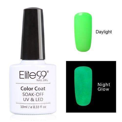PinKart-USA Online Shopping 6703 Elite99 10Ml Night Glow In Dark Nail Gel Polish Fluorescent Luminous Nail Polish Lacquer 24 Candy