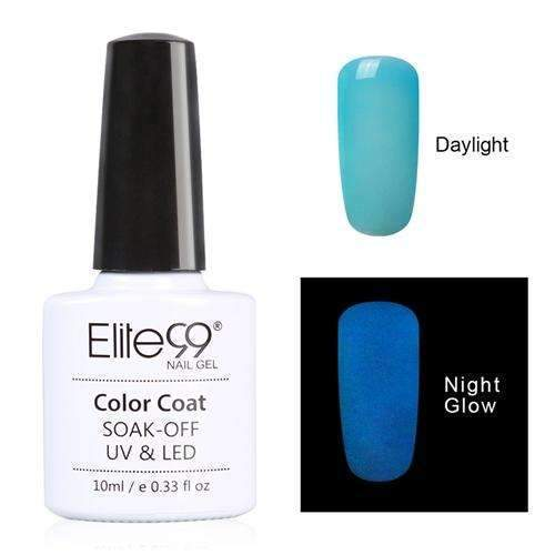 PinKart-USA Online Shopping 6704 Elite99 10Ml Night Glow In Dark Nail Gel Polish Fluorescent Luminous Nail Polish Lacquer 24 Candy