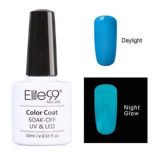 PinKart-USA Online Shopping 6705 Elite99 10Ml Night Glow In Dark Nail Gel Polish Fluorescent Luminous Nail Polish Lacquer 24 Candy