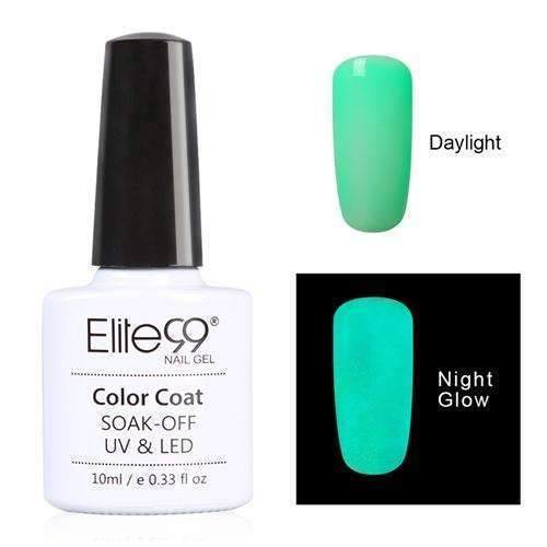 PinKart-USA Online Shopping 6712 Elite99 10Ml Night Glow In Dark Nail Gel Polish Fluorescent Luminous Nail Polish Lacquer 24 Candy