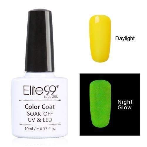 PinKart-USA Online Shopping 6713 Elite99 10Ml Night Glow In Dark Nail Gel Polish Fluorescent Luminous Nail Polish Lacquer 24 Candy