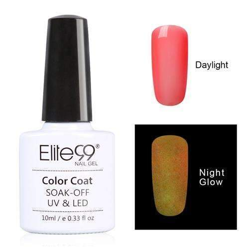 PinKart-USA Online Shopping 6714 Elite99 10Ml Night Glow In Dark Nail Gel Polish Fluorescent Luminous Nail Polish Lacquer 24 Candy
