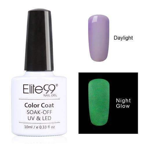PinKart-USA Online Shopping 6715 Elite99 10Ml Night Glow In Dark Nail Gel Polish Fluorescent Luminous Nail Polish Lacquer 24 Candy