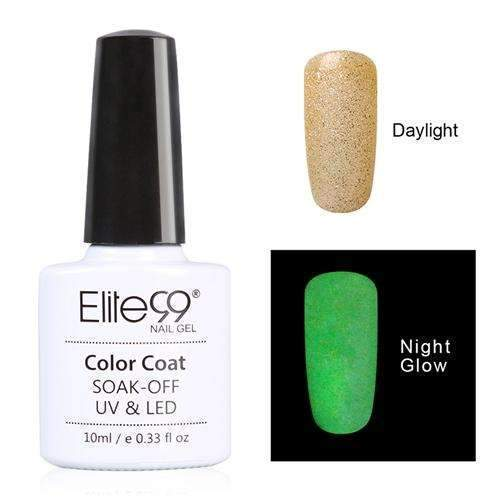 PinKart-USA Online Shopping 6719 Elite99 10Ml Night Glow In Dark Nail Gel Polish Fluorescent Luminous Nail Polish Lacquer 24 Candy