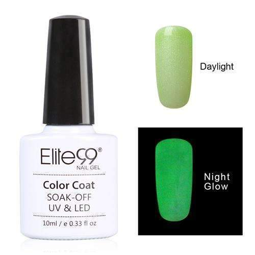 PinKart-USA Online Shopping 6720 Elite99 10Ml Night Glow In Dark Nail Gel Polish Fluorescent Luminous Nail Polish Lacquer 24 Candy