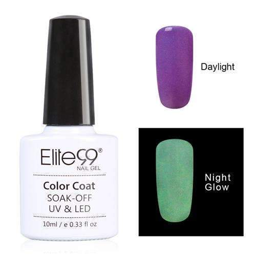 PinKart-USA Online Shopping 6722 Elite99 10Ml Night Glow In Dark Nail Gel Polish Fluorescent Luminous Nail Polish Lacquer 24 Candy