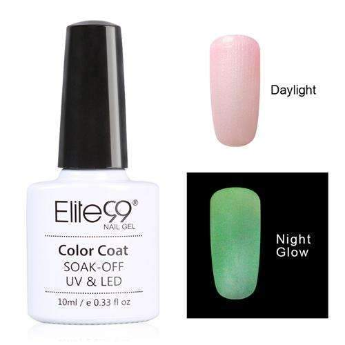 PinKart-USA Online Shopping 6723 Elite99 10Ml Night Glow In Dark Nail Gel Polish Fluorescent Luminous Nail Polish Lacquer 24 Candy
