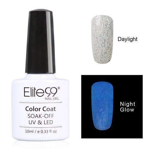PinKart-USA Online Shopping 6724 Elite99 10Ml Night Glow In Dark Nail Gel Polish Fluorescent Luminous Nail Polish Lacquer 24 Candy