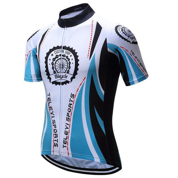 PINkart-USA Online Shopping 7 / L Brand Teleyi Breathable Cycling Jersey Summer Men'S Mountain Cycling Clothing Bicycle Clothes