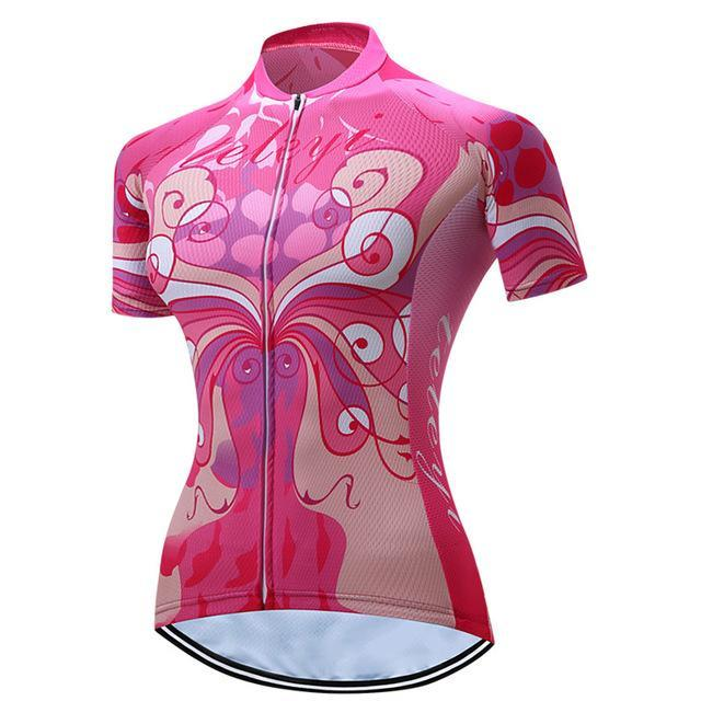 PINkart-USA Online Shopping 7 / L Teleyi Cycling Jersey Tops Summer Short Sleeve Bike Jersey Shirts Ropa Ciclismo Mountain Bicycle