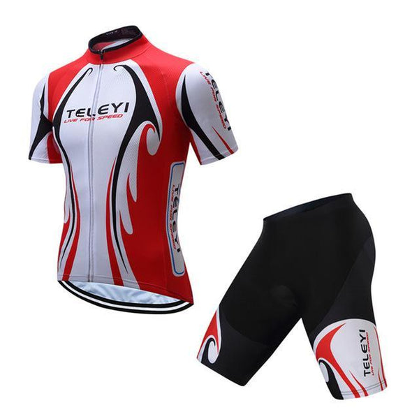PINkart-USA Online Shopping 7 / L Teleyi Ropa Ciclismo Cycling Jersey Set Mtb Racing Sport Cycling Clothing Quick Dry Bicycle Clothes
