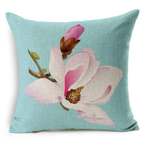 PinKart-USA Online Shopping 7 no filling / 45x45cm Flower Decorative Pillows Home Car Tree Cushions Funda Cojines Wave Coussin Decoration Ch5D07