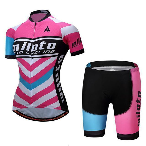 PINkart-USA Online Shopping 7 / S Breathable Women Cycling Jersey Sets Ropa Ciclismo Quick Dry Bicycle Cycling Clothing Maillot Mtb