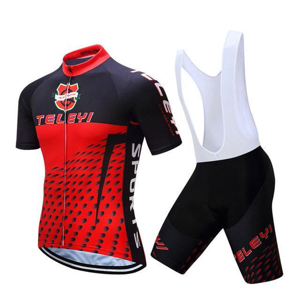 PINkart-USA Online Shopping 7 / S Teleyi Breathable Bike Jersey Outdoor Bicycle Clothes Quick Dry Cycling Clothing Ropa Ciclismo