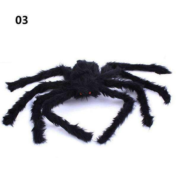 PinKart-USA Online Shopping 75cm 30/50/75Cm Large Spider Made Of Wire And Plush Two Style Funny Toy Props Spider For Party Bar Ktv