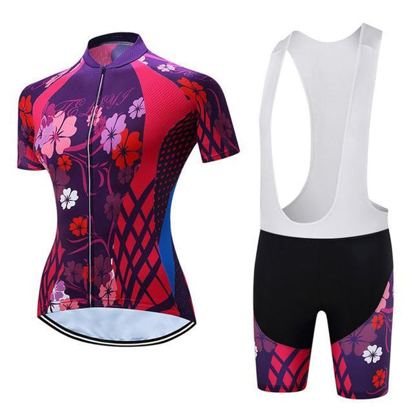PINkart-USA Online Shopping 8 / L Teleyi Leisure Outdoor Women'S Cycling Jersey Set Sport Bicycle Cycling Clothing Ropa Ciclismo