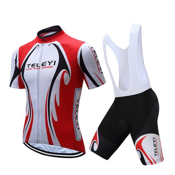 PINkart-USA Online Shopping 8 / L Teleyi Ropa Ciclismo Cycling Jersey Set Mtb Racing Sport Cycling Clothing Quick Dry Bicycle Clothes