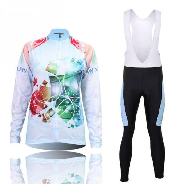 PINkart-USA Online Shopping 8 / L Women'S Cycling Jersey Sets Winter Long Sleeve Mtb Bicycle Cycling Clothing Maillot Ciclismo