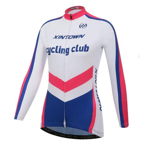 PINkart-USA Online Shopping 8 / L Women'S Long Sleeve Cycling Jersey Winter Sport Bicycle Cycling Clothing Mountain Bike Jersey