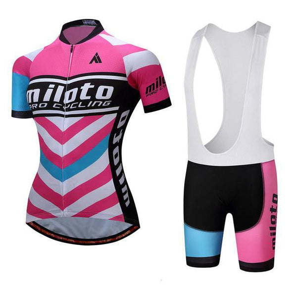 PINkart-USA Online Shopping 8 / S Breathable Women Cycling Jersey Sets Ropa Ciclismo Quick Dry Bicycle Cycling Clothing Maillot Mtb