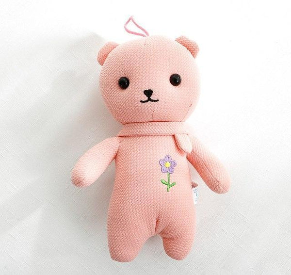 PINkart-USA Online Shopping 8 Sales Baby Bear Rabbit Toys 8 Styles Colorful Cute Gift Soft Infant Sleeping Toys 0-5Years Kids