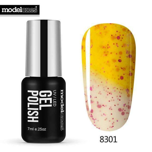 PinKart-USA Online Shopping 8301 7Ml Fashion Color Thermal Gel Polish Uv Led Change Color Temperature Nail Gel Polish Diy
