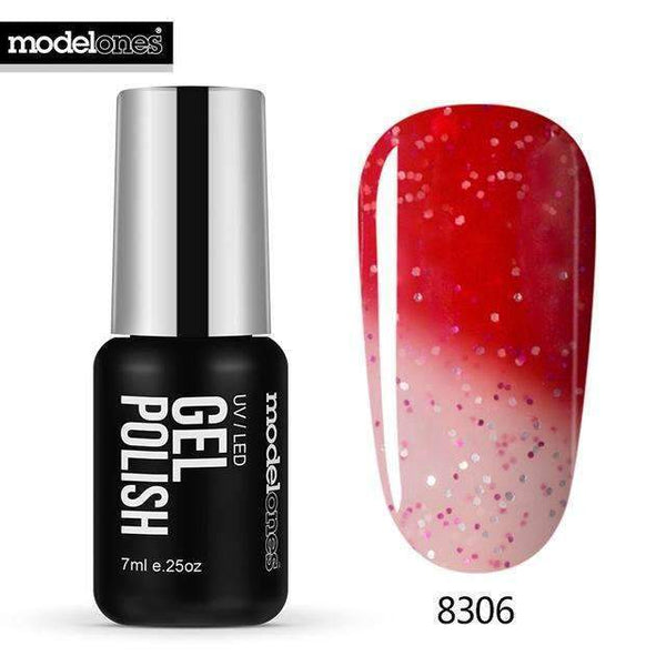 PinKart-USA Online Shopping 8306 7Ml Fashion Color Thermal Gel Polish Uv Led Change Color Temperature Nail Gel Polish Diy