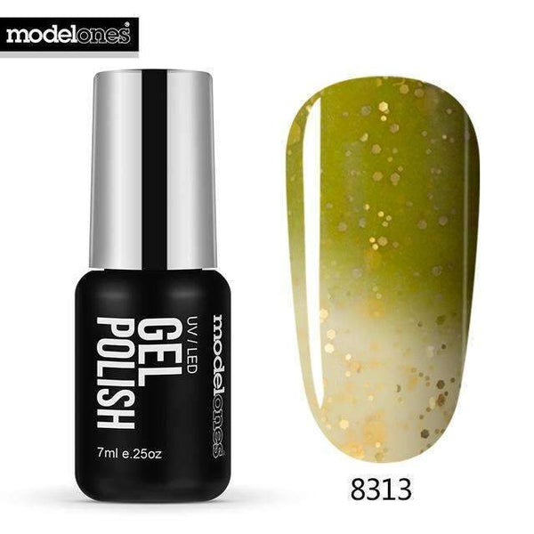 PinKart-USA Online Shopping 8313 7Ml Fashion Color Thermal Gel Polish Uv Led Change Color Temperature Nail Gel Polish Diy