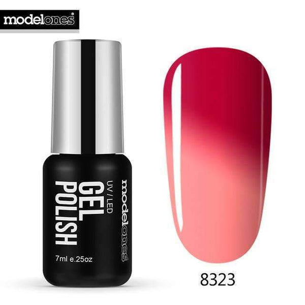 PinKart-USA Online Shopping 8323 7Ml Fashion Color Thermal Gel Polish Uv Led Change Color Temperature Nail Gel Polish Diy