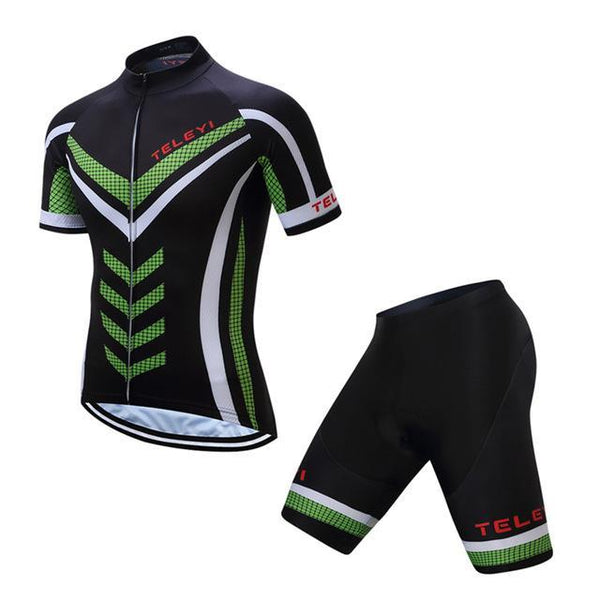 PINkart-USA Online Shopping 9 / L Teleyi Ropa Ciclismo Cycling Jersey Set Mtb Racing Sport Cycling Clothing Quick Dry Bicycle Clothes