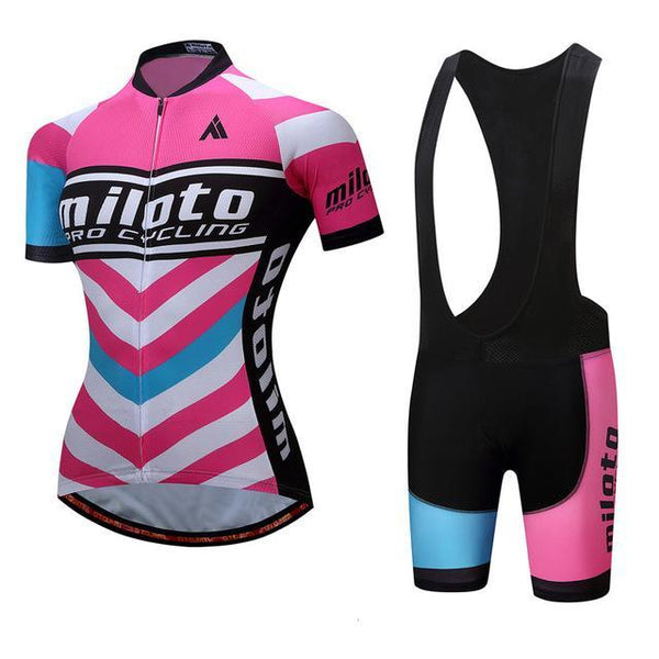 Breathable Women Cycling Jersey Sets Ropa Ciclismo Quick Dry Bicycle Cycling Clothing Maillot Mtb