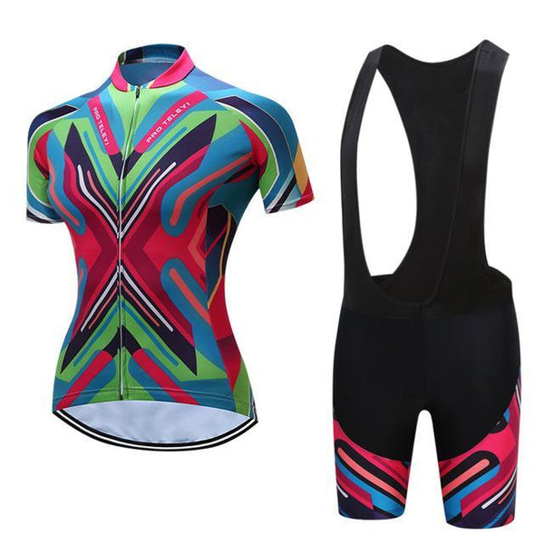 PINkart-USA Online Shopping 9 / S Teleyi Bike Team Women Cycling Jersey Ropa Ciclismo Breathable Bicycle Cycling Clothing Quick Dry