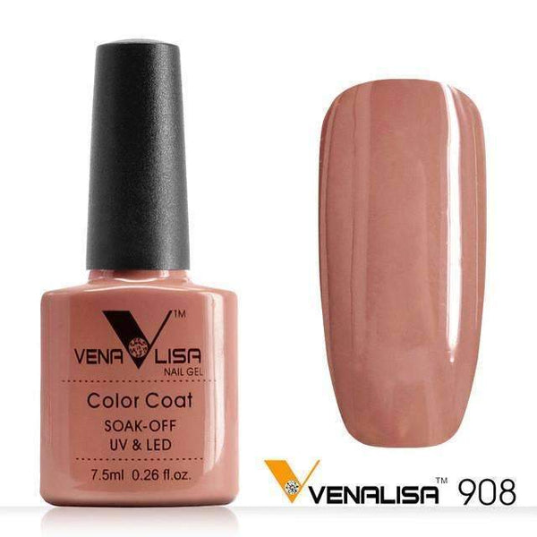 PinKart-USA Online Shopping 908 Nail Art Design Manicure Canni 60 Color 7.5Ml Soak Off Enamel Gel Polish