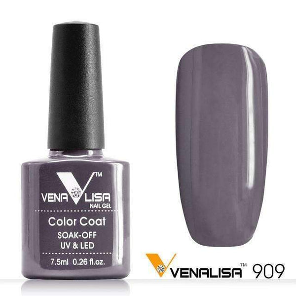 PinKart-USA Online Shopping 909 Nail Art Design Manicure Canni 60 Color 7.5Ml Soak Off Enamel Gel Polish