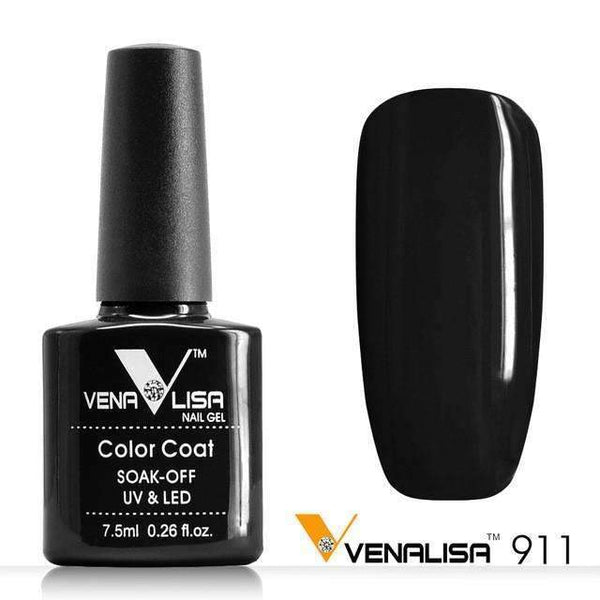 PinKart-USA Online Shopping 911 Blakc Nail Art Design Manicure Canni 60 Color 7.5Ml Soak Off Enamel Gel Polish