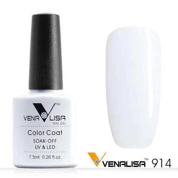 PinKart-USA Online Shopping 914 White Nail Art Design Manicure Canni 60 Color 7.5Ml Soak Off Enamel Gel Polish