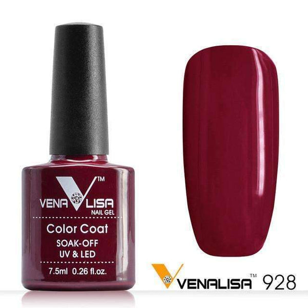 PinKart-USA Online Shopping 928 Nail Art Design Manicure Canni 60 Color 7.5Ml Soak Off Enamel Gel Polish
