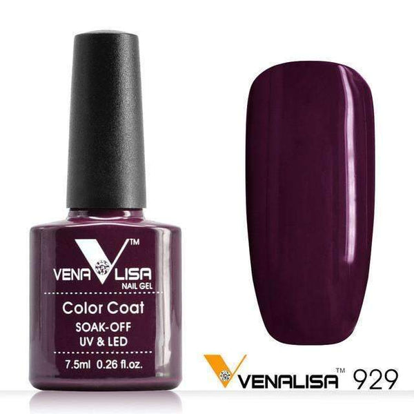 PinKart-USA Online Shopping 929 Nail Art Design Manicure Canni 60 Color 7.5Ml Soak Off Enamel Gel Polish