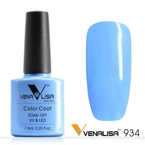 PinKart-USA Online Shopping 934 Nail Art Design Manicure Canni 60 Color 7.5Ml Soak Off Enamel Gel Polish