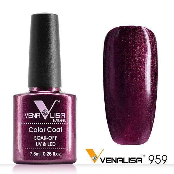 PinKart-USA Online Shopping 959 Nail Art Design Manicure Canni 60 Color 7.5Ml Soak Off Enamel Gel Polish