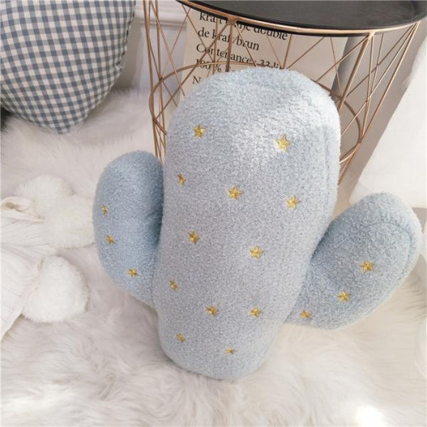 PINkart-USA Online Shopping A 40x45cm Cute Plush Cushion For Child Creative Embroidery Toy Pineapple Strawberry Cactus Shape Cushions
