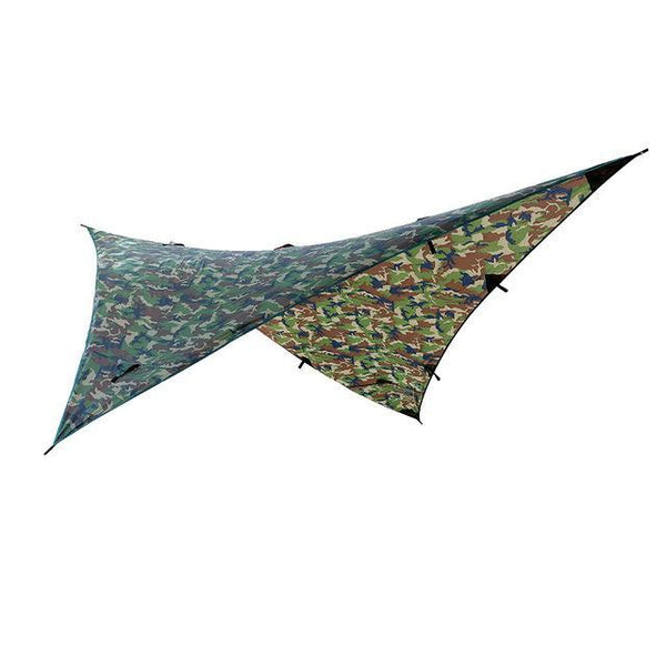 PINkart-USA Online Shopping A Waterproof Camping Awning Tarp Trail Tent Sun Shade Hammock Shelter Camo For Outdoor Camping Travel