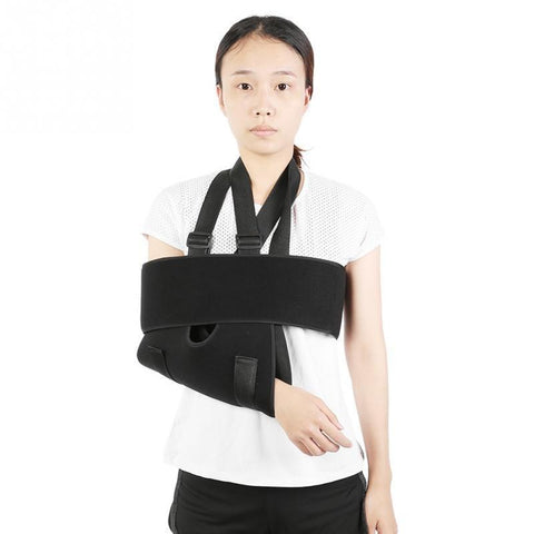 PINkart-USA Online Shopping Adjustable Breathable Forearm Elbow Arm Shoulder Sling Brace Fracture Sprain Support