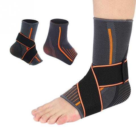 PINkart-USA Online Shopping Ankle Support Brace Compression Breathable Foot Elastic Guard Strap